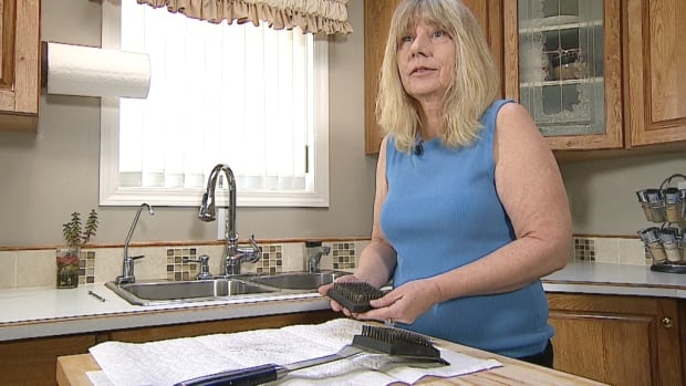 Beverly Smith of Red Deer, Alta., underwent emergency surgery in October after ingesting a bristle from her barbecue grill brush, which perforated her bowel.
