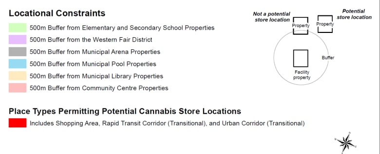 The Map Shop London.City Maps Possible Locations For Pot Shops Cbc News