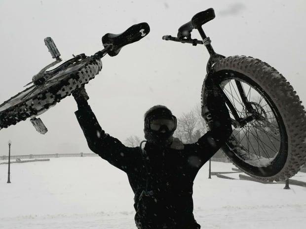 Gabriel Pepin unicycle