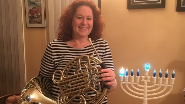 Janice Rothman, the organizer of 'Horns for Hanukkah,' says music has a strong significance in Jewish culture.