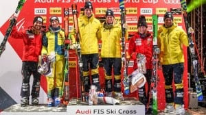 Kevin Drury, Brittany Phelan land 1st podium finishes in World Cup ski cross