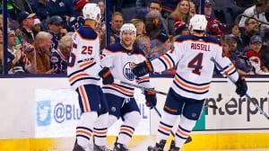 McDavid's 4-point night fuels Oilers' drubbing of Blue Jackets