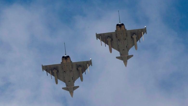 كندا تطلق عملية تقديم العطاءات بمليارات الدولارات لـ 88 طائرة مقاتلة جديدة Israel-germany-blue-flag-2017