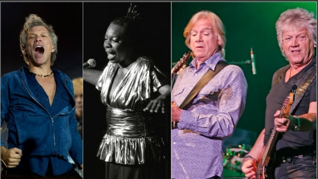 New Jersey rockers Bon Jovi, iconic singer Nina Simone and the Moody Blues lead the 2018 class of Rock and Roll Hall of Fame inductees.