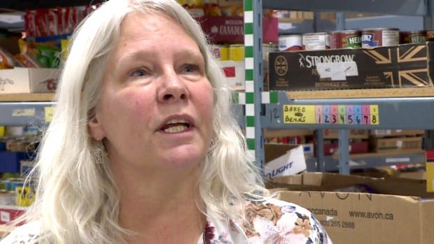 Airdrie Food Bank executive director Lori McRitchie says despite other signs of an economic recovery, demand is on the rise at the food bank.