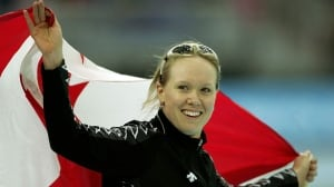 Cindy Klassen never wanted to be a speed skater