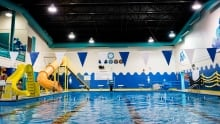 Mike Adam rec complex swimming pool Wabush