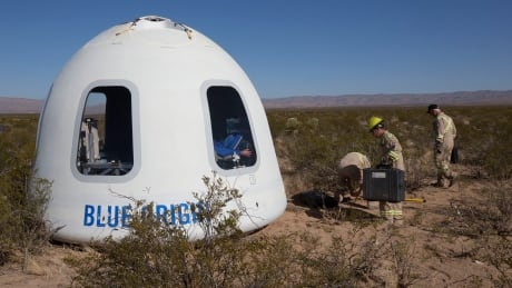Blue Origin new crew capsule