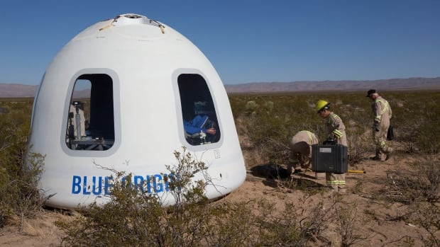 Blue Origin's Crew Capsule 2.0 makes maiden flight