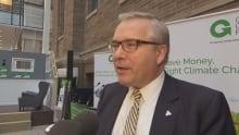 Environment Minister Chris Ballard