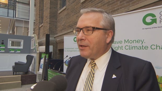 "Environment Minister Chris Ballard said Ontario homes are ""under-insulated,"" as he unveiled new rebates for energy-efficient renovations on Wednesday."