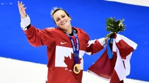 Marie-Philip Poulin focused on Olympic gold — not Hall of Fame