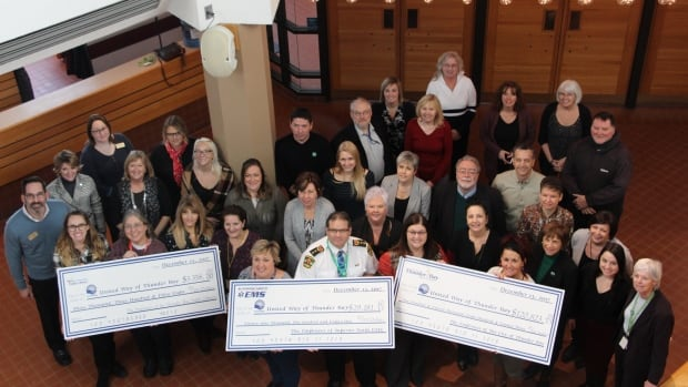 City of Thunder Bay, Superior North EMS and Thunder Bay Public Library employees have raised more than $150,000 for the United Way through the 2017 municipal division fundraising campaign.
