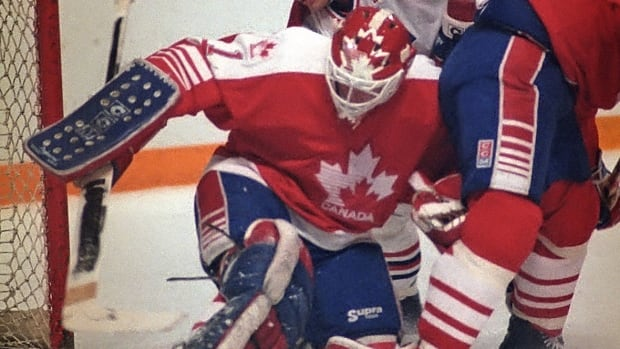 After winning MVP honours for leading Canada to a surprise title at the Izvestia tournament in late 1987, Sean Burke remained in goal for the 1988 Olympics in Calgary.