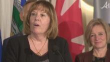Alberta Energy Minister Marg McCuaig-Boyd
