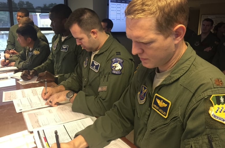 B-52s, bombs and 'messaging' missions: Inside a U S  Air Force