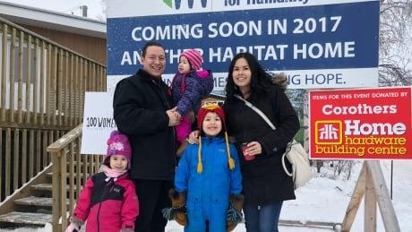 Habitat for Humanity family