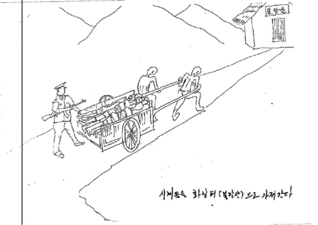 north korean prison sketch 2