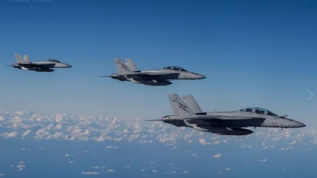 The Canadian Armed Forces posted a photo of F-18s to its Facebook page to tout the government's decision to buy 18 of the fighter jets from Australia. Problem is, the photo depicted U.S. Super Hornets - the plane the government decided not to buy.