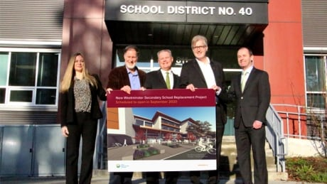 Contract awarded for new New Westminster Secondary School