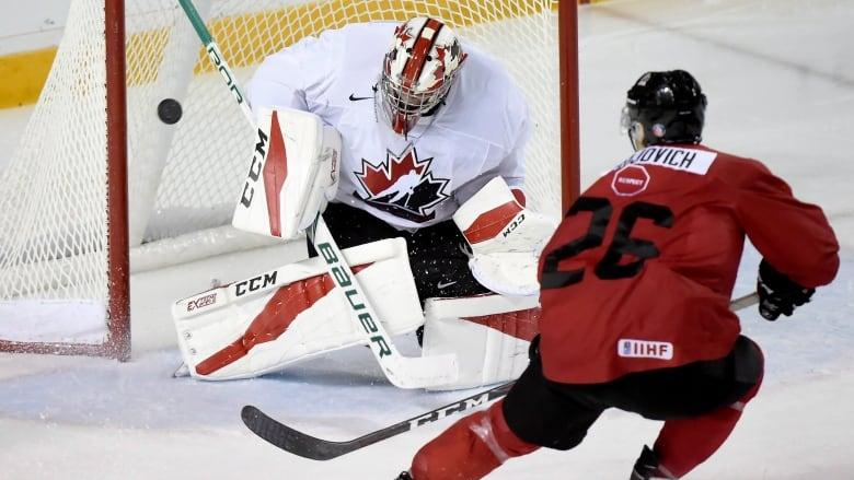 U Sports All Stars Blank Canada Juniors In Exhibition Opener Cbc