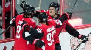 Senators snap 5-game skid with win over Rangers
