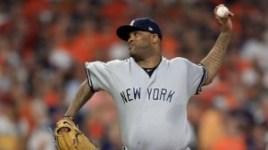 Blue Jays meet with free-agent starter CC Sabathia