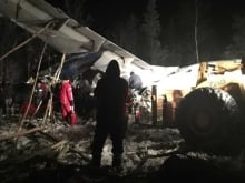 Timothy Fern, 16, survived the Fond-du-Lac, Sask., plane crash on Wednesday.