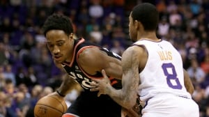 Demar DeRozan matches season-high with 37 points as Raptors down Suns