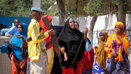 Al-Shabaab claims suicide bombing that kills 17 in Somalia
