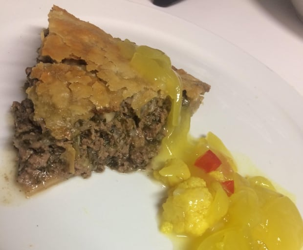 Tourtiere meat pie by Riverview Country Market