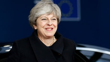 Theresa May meets with EU leaders on Brexit after being chastened at home thumbnail