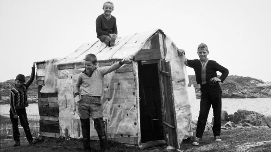"A still from the National Film Board movie, ""The Children from Fogo Island"" ©1967"