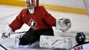 Canada's DiPietro hoping big-game experience leads to world junior spot
