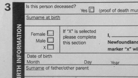 Nova Scotia to allow 'X' as sex option on birth certificates
