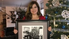 Charlottetown heritage researcher and collection officer Natalie Munn