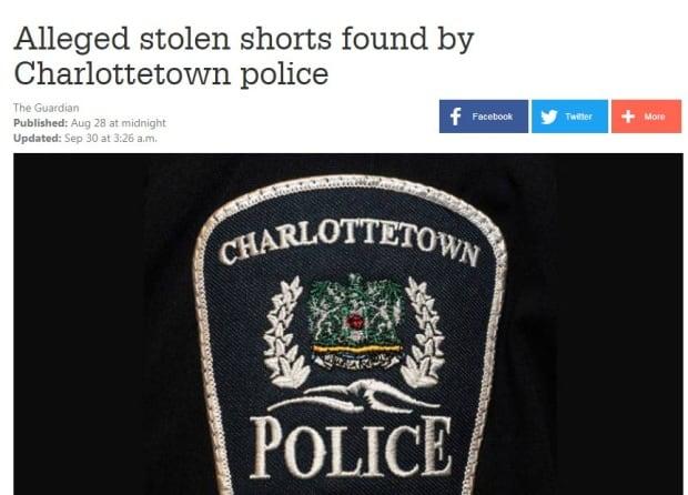 Alleged short thief