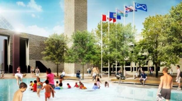 city hall wading pool