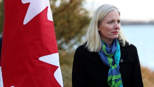 Environment Minister Catherine McKenna says the federal government will impose the federal option if a province doesn't meet the federal benchmark on carbon pricing.
