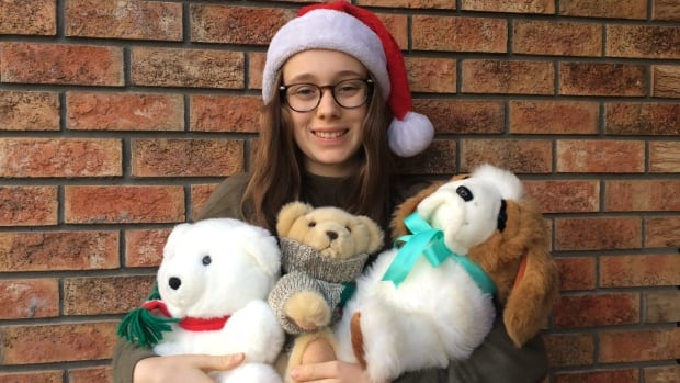 Leah Smith's Christmas toy drive collected 700 items last year for children and teenagers from low-income families.