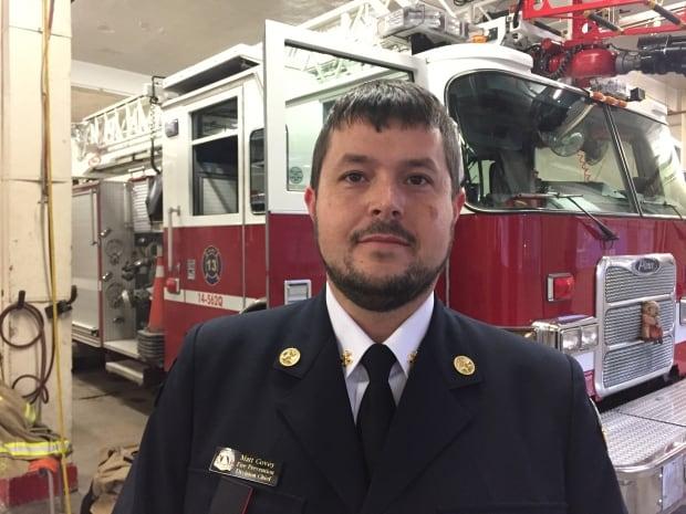 Halifax Fire prevention chief Matt Covey