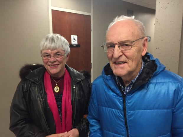 Lydia Sorflaten and Fred Blois