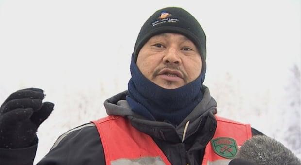 Ivan Adam, Canadian Ranger in Fond-du-Lac