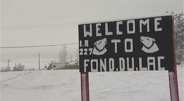 Fond-du-Lac town sign