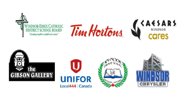 Sounds of the season sponsors, Windsor
