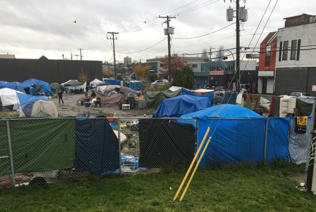 Sugar Mountain Tent City