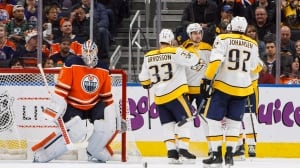 Predators sink Oilers with 2nd-period onslaught