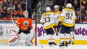 Weird and wacky game sees Oilers play well, and get shut out by Nashville