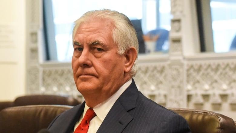 Rex Tillerson to meet with Canada's cabinet, talk Korea crisis