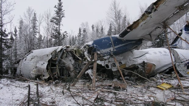 TSB investigators took photos of the aircraft wreckage in Fond du Lac, showing the extent of damage. Many in the community have been affected both physically and mentally by the Dec. 13 crash, and will need the proper support to get through it, says Chief Louie Mercredi.